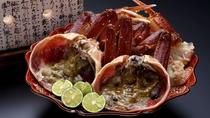 ★味噌がグツッ、身がプクッで食べ頃!炭火でいただく絶品【焼き蟹】イメージ