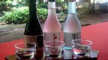 ★チョットほろ酔い♪女将お奨め!3種の地酒の利き酒セットをお楽しみ下さい