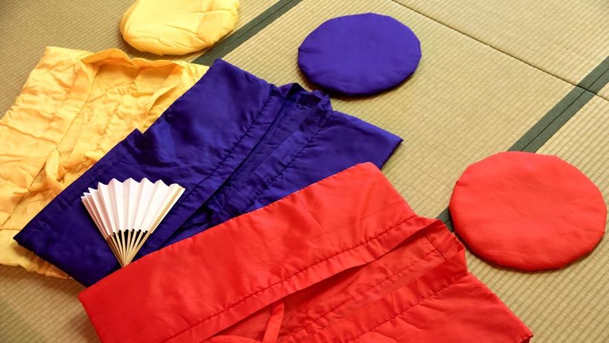 ★赤・紫・黄色のちゃんちゃんこ貸し出し無料♪ご家族様の大切な日をサポート致します