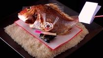 【萬松閣の祝い膳】★お客様の大切なお祝いの日を華やかに彩る祝い膳のイメージ