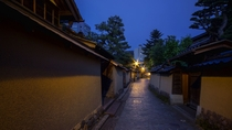 【長町武家屋敷跡】金沢情緒を感じる街並み※当館から車で約60分程です