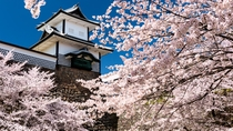 石川県の有名観光スポット【金沢城石川門】※当館から車で約60分程です1