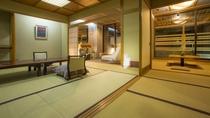 【露天風呂&モダンリビング付き特別室】658号室