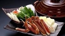 ★冬野菜や蟹の旨みに心まで温かくなります♪【蟹すき鍋イメージ】
