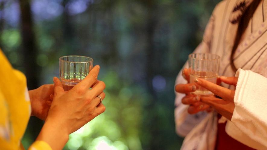 ★お風呂上りは【水素水】を飲んで「悪玉活性酸素」を取り除き、健康美人に♪