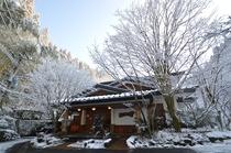 雪景色【正面玄関】