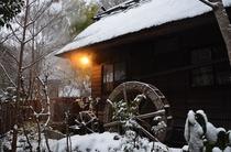 和/雪景色