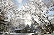 雪景色【温泉地獄】