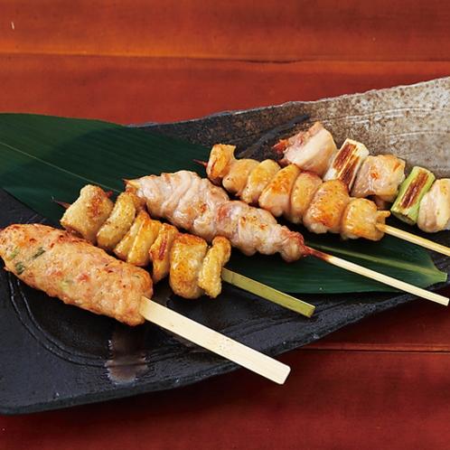 串焼き五種