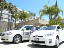 ホテル内に日本語タクシー「Smile Car Service」がございます。観光での貸切利用も可能!