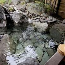 客室【小寒】露天風呂