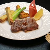 黒毛和牛の炙りステーキ