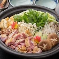 炙り冠地鶏鍋