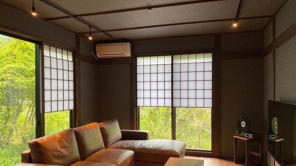 特別室【83平米】リビング+和洋室+寝室 露天風呂付き