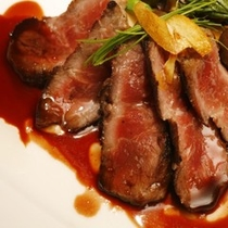 【料理】コース料理(肉料理・一例)
