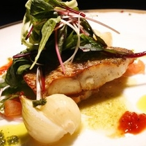 【料理】コース料理(魚料理・一例)