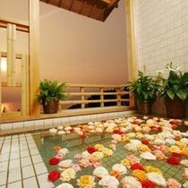 【風呂】無料の貸切露天風呂(記念日プラン)