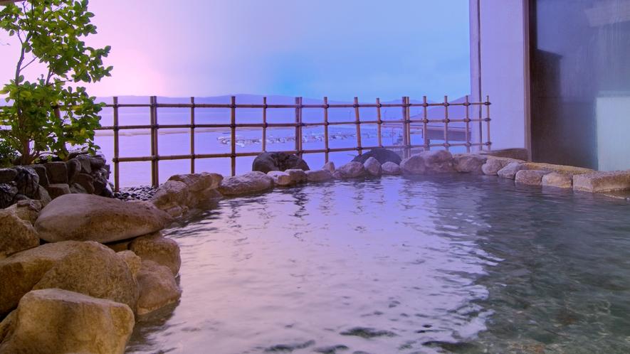 婦人大浴場:弁天の湯 野天風呂