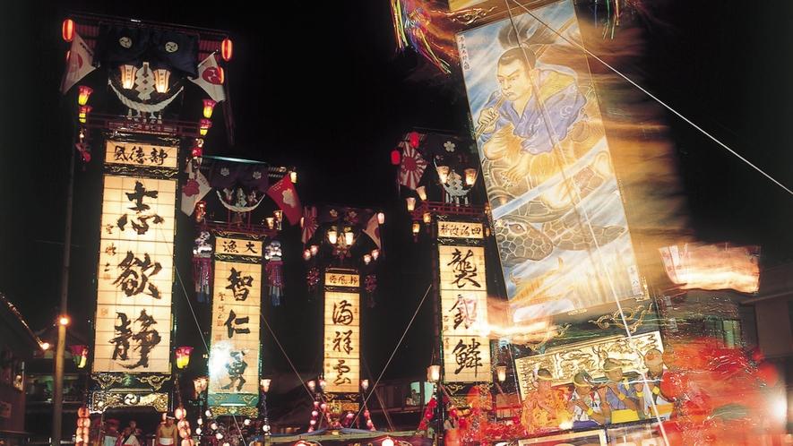 石崎奉燈祭り 写真提供:石川県観光連盟
