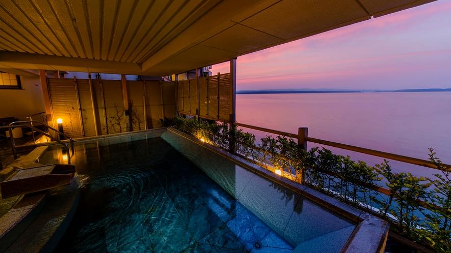 殿方大浴場:恵比寿の湯 露天風呂
