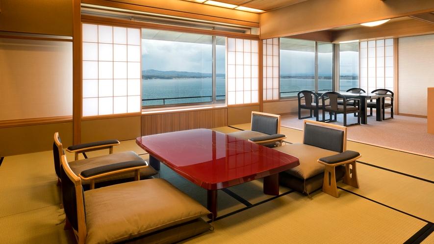 雪月化特選階客室一例