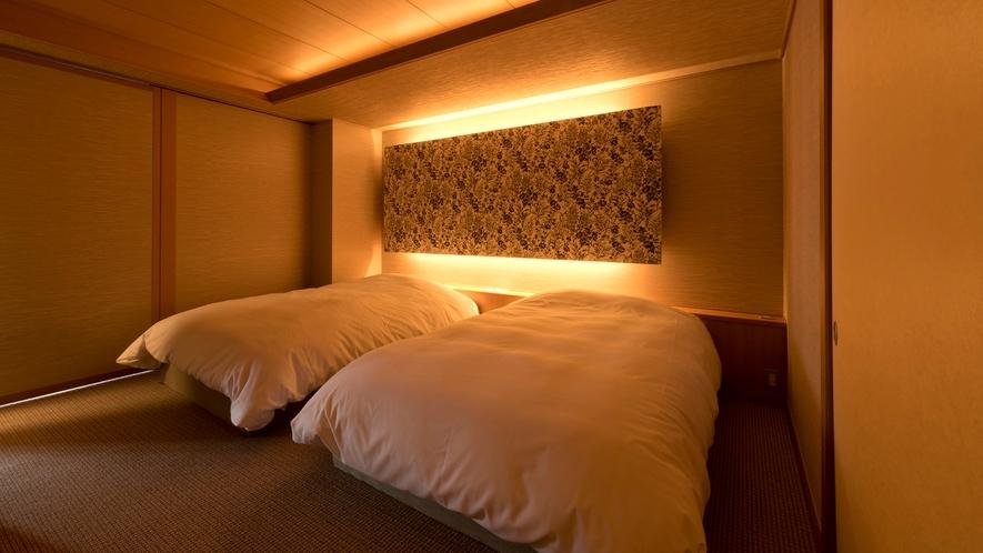 雪月化特選階寝室一例
