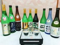 地酒三蔵元のきき酒セット