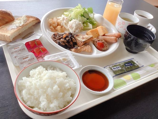 【朝食】★無料バイキング