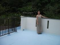 2階のベランダ