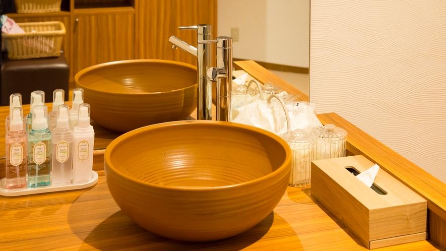 貸切の湯(洗面台)