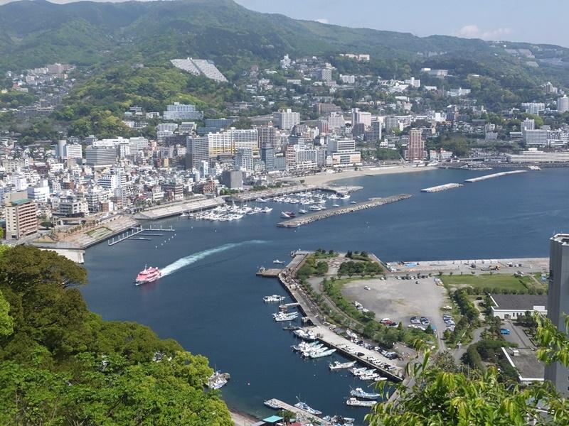 熱海城からの眺望