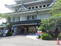 熱海城入り口