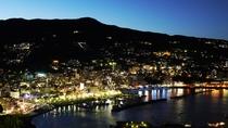 熱海城からの眺望(夜)