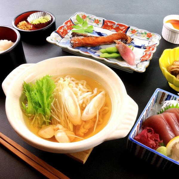 【定食一例】魚うどん定食