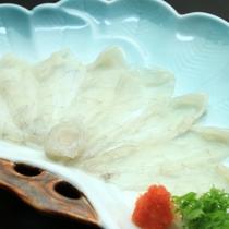 【夕食一例】旬魚のお造り