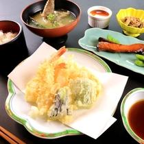 【定食一例】天ぷら定食