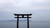 *【白鬚神社】近江最古の大社。琵琶湖に浮かぶ鳥居は、「近江の厳島」と称されています。