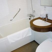 【デラックスルーム】バスルーム