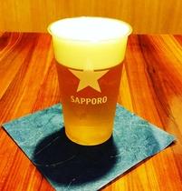 会員様限定の生ビール!