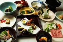 夕食一例 ―自慢の由布茶寮懐石でございます―