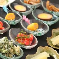 農場直結型『レストラン東北牧場』和食ビュッフェ小皿