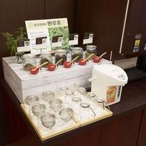 ・野草茶コーナー