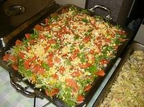 バイキング料理サラダ1