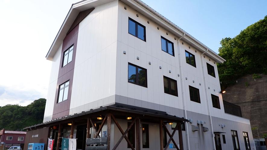 ・当施設は陸中海岸国立公園の中心、岩手県宮古市に位置する旅館・食事処です。