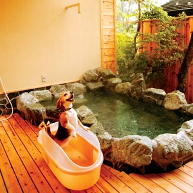2種類の貸切露天風呂をペットと楽しもう☆スタンダードプラン