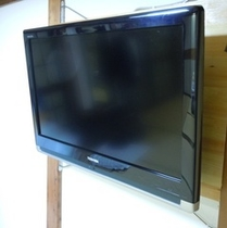 部屋の大きな液晶TV