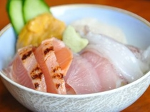 プチ海鮮丼