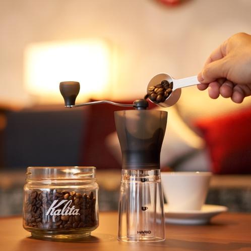 全室禁煙/SORA/コーヒーミル