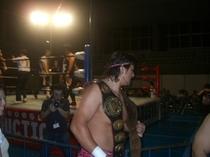神栖市で行われた全日本プロレスの試合