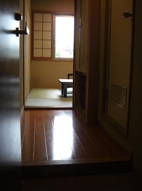 【食事なし】シングルスイート ビジネス・プライベートにお一人で(和室4.5畳・バス・トイレ付)